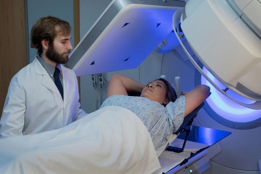 efectos de la radioterapia en cancer de mama